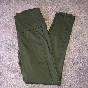 Victoria Secret Sport Army Green Leggings